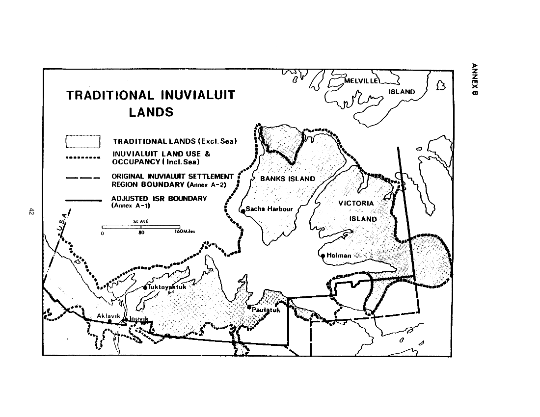 Traditional Inuvialuit Lands