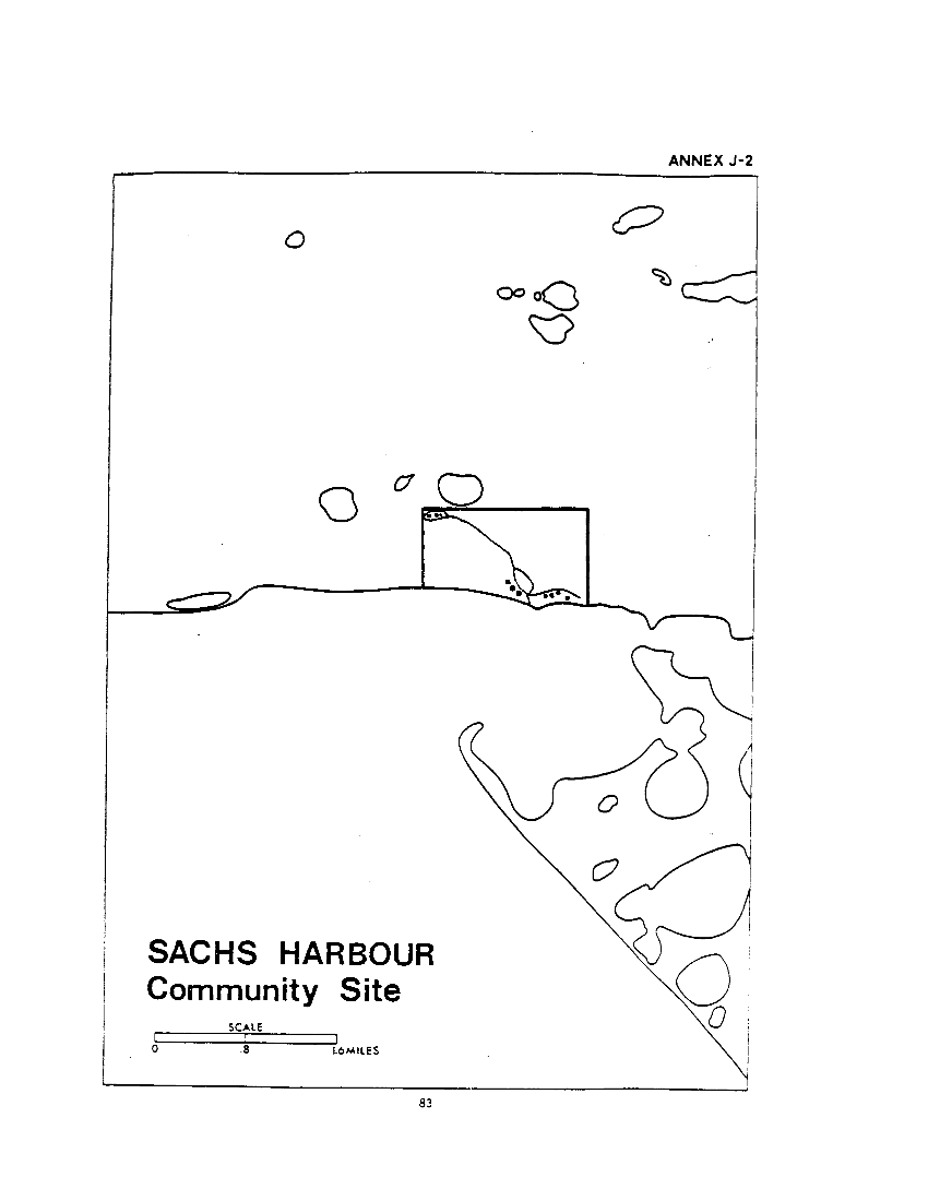 J. Sachs Harbour Community Site (map)