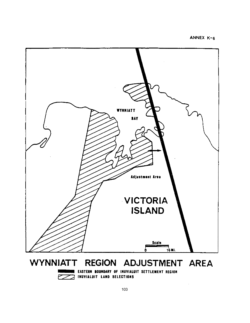 Wynniatt Region Adjustment Area (map)